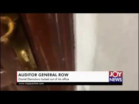Auditor-General Domelevo locked out of office