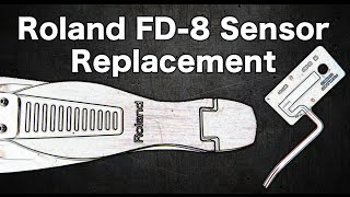Roland FD-8 sensor replacement