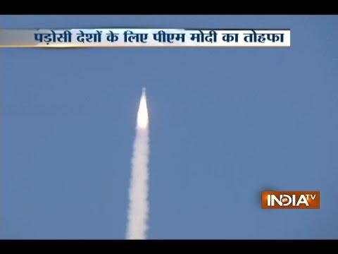 ISRO launches South Asia Satellite GSAT-9 from Sriharikota, Andhra Pradesh