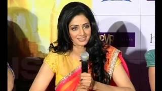 English Vinglish Trailer Launch - SriDevi,Priya anand
