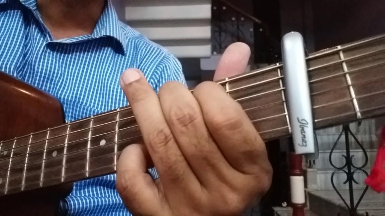 Sai Baba Bhajan On Guitar Chords Easy Guitar Chords Lesson For
