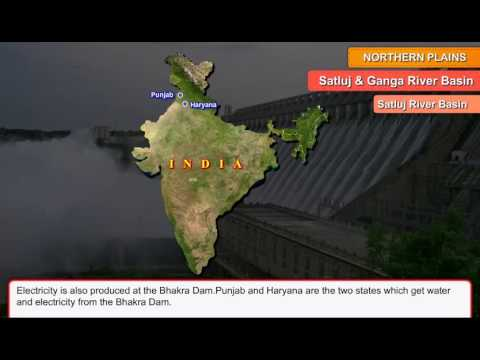 Satluj & Ganga river basin