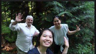 Vlog 671| CÙNG CHỊ VÀ BA NUÔI Ở MỸ KHÁM PHÁ KHU RỪNG PHÍA SAU NHÀ BA-CUỘC SỐNG SINH TỒN TRONG RỪNG