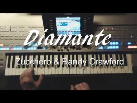 DIAMANTE Zucchero & Randy Crawford, Instrumentalcover auf Tyros 4