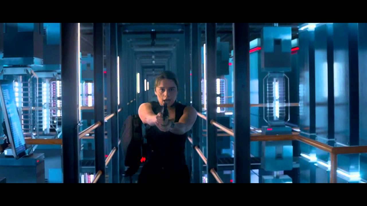 Terminator genisys 39 becoming sarah connor 39 featurette - Sarah connor genisys actress ...