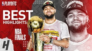 Fred VanVleet Full Series Highlights Raptors vs Warriors | 2019 NBA Finals Video