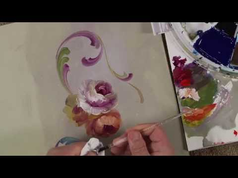 Hindeloopen Lessons- A Palette of Flowers Book Video 2