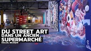 Video Du Street Art dans un ancien Supermarché download MP3, 3GP, MP4, WEBM, AVI, FLV November 2018