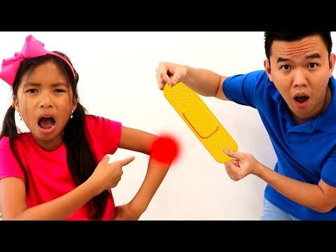 The Boo Boo Song   Wendy Pretend Play Nursery Rhymes & Kids Songs