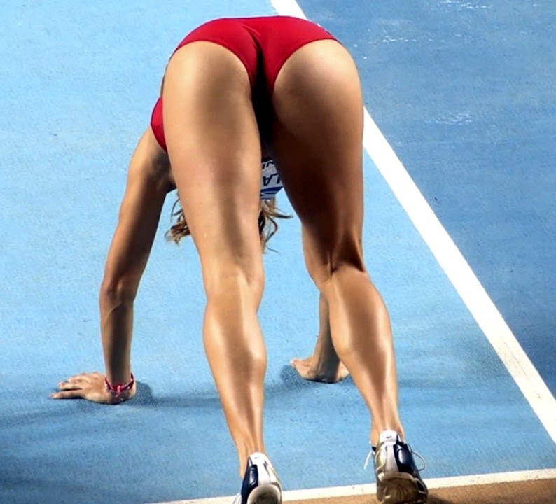 Remarkable, amusing sexy athletic black women