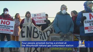 Protesters In Weymouth Rally Against Natural Gas Compressor Station