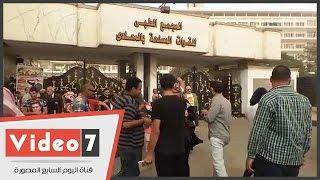 بالفيديو.. عاصفه رملية تجتاح سماء المعادى أثناء احتفالات أنصار مبارك