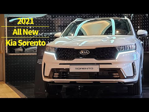 2021 Kia Sorento Exterior & Interior, operating all features: All New Kia Sorento 2021
