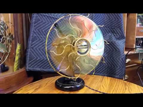 Hawthorn Western Electric Antique Fan Front