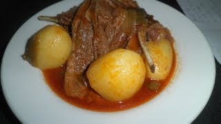 How To Make - Stewed Lamb Chops Cooked With Beer