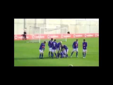 Stjarnan'lı futbolcuların komik gol sevinçleri