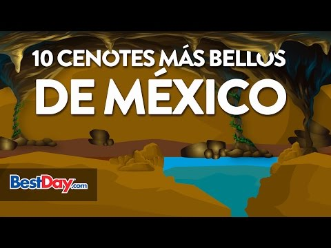 10  Cenotes más bellos de México