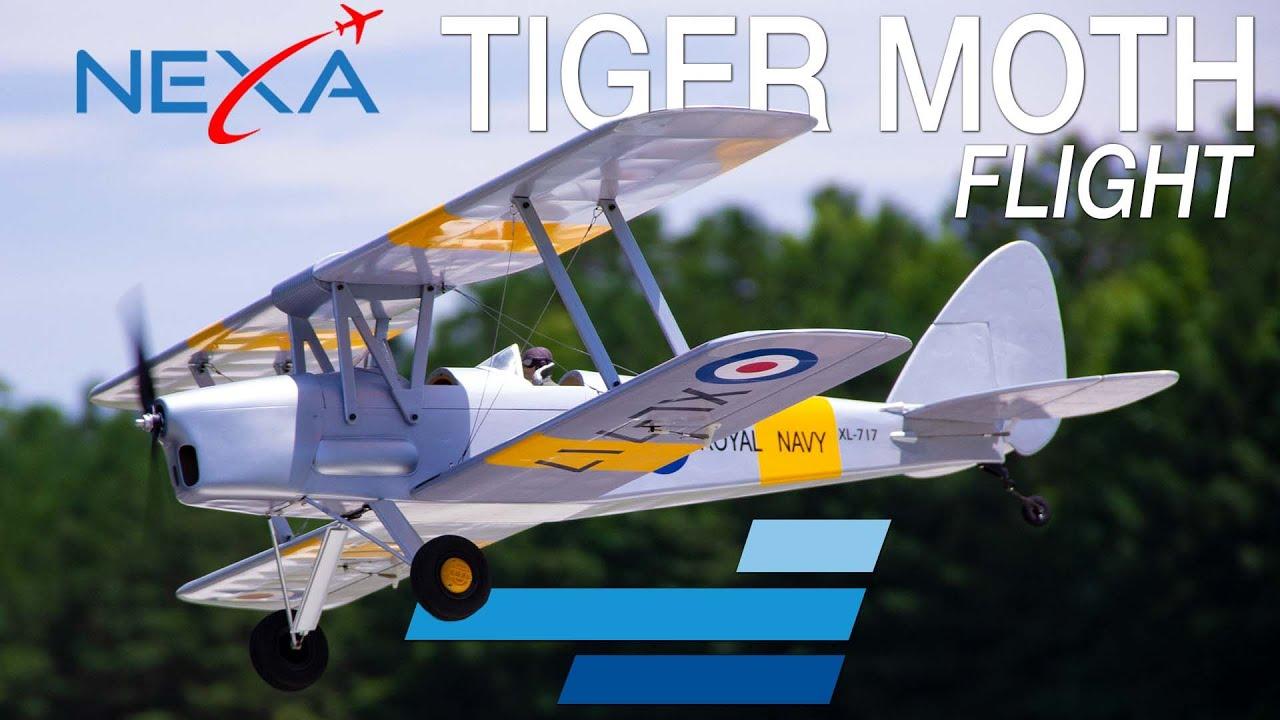 """Nexa DH.82 Tiger Moth 1400mm (55"""") ARF - Motion RC Flight"""