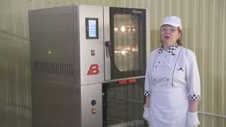 Конвекционная печь Фотон - видео обзор - выпечка песочного печенья