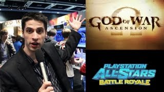 Hands on: God of War: Ascension & Playstation All Stars: Battle Royale, PAX Prime 2012