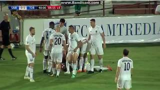 Samtredia - Tobol 0-1 Last minute Goal