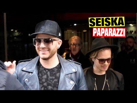 Supertähti Adam Lambert ja Sauli Koskinen poistuivat yhdessä hotellista!