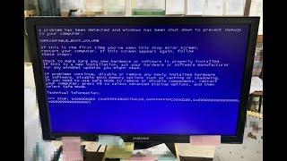 일산 컴퓨터수리 사용 중에 화면이 멈춰서 강제종료를 했…
