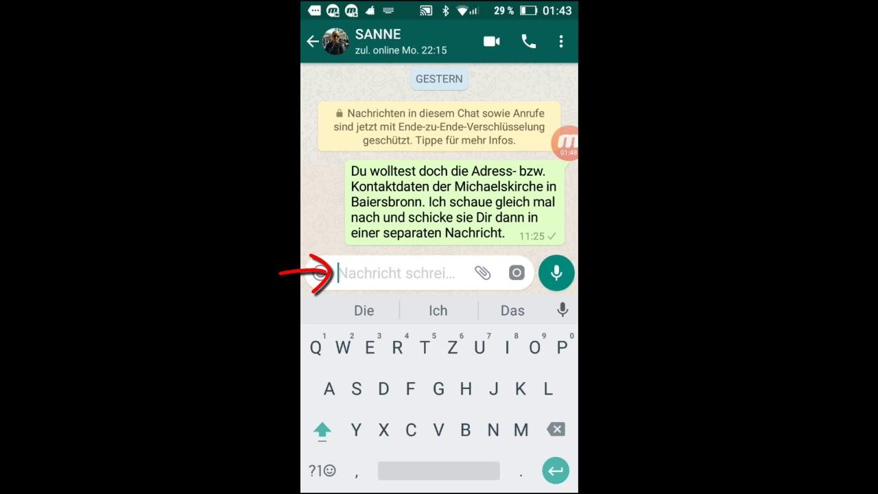 Whatsapp Grundlagen 37 Nachrichten Oder Text Textpassagen Kopieren