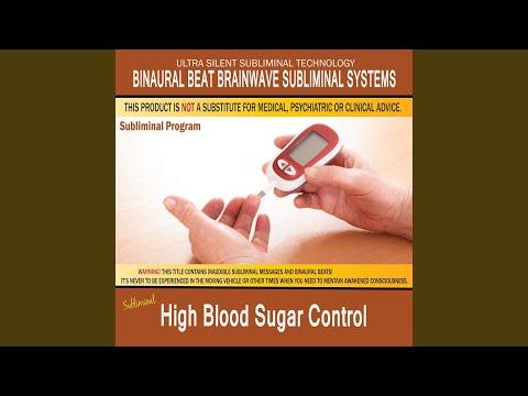 High Blood Sugar Control