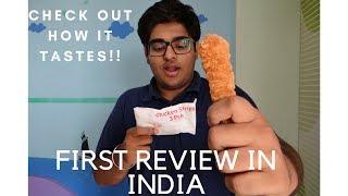 McDonald's Chicken Strips | New Menu | Review |