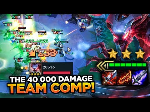 MY CARRIES DID 40 000 DAMAGE COMBINED?! HOW IS THAT POSSIBLE? | Teamfight Tactics Set 2