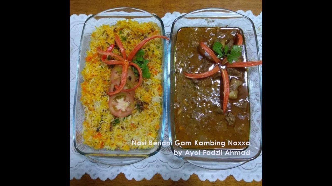 Nasi Beriani Gam Kambing Noxxa Vimoreorg