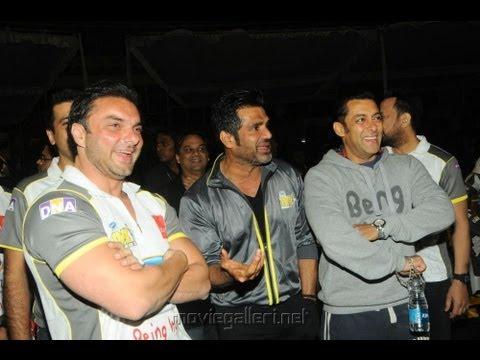 Salman Khan's Magic Works For Sohail's Team At Dubai CCL Match