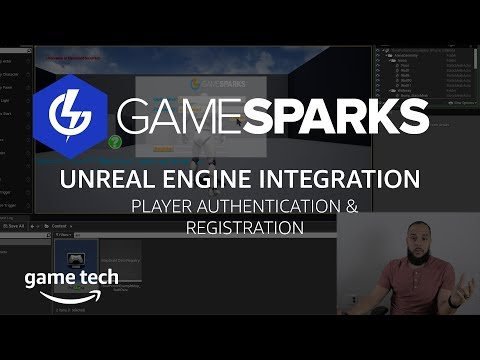 Using GameSparks In Unreal To Authenticate & Register Player Accounts