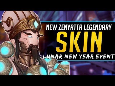 Overwatch NEW Legendary Skin Zenyatta - Zhuge Liang - Lunar New Year Event thumbnail