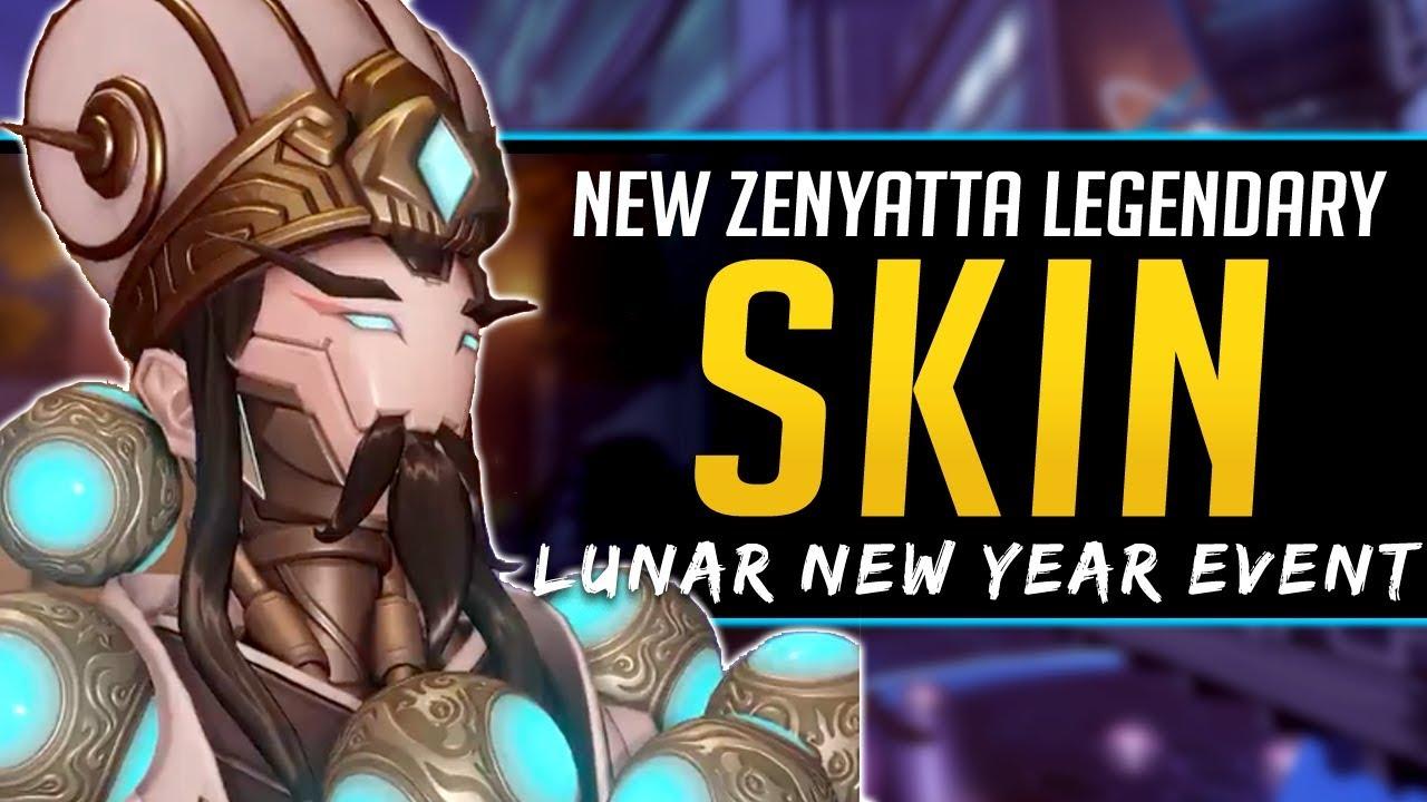 Overwatch New Legendary Skin Zenyatta Zhuge Liang Lunar New Year