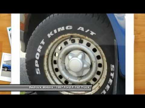 Bedrock Motors Rogers - 1997 Ford F-150 XL Rogers, Blaine, Minneapolis, St Paul, MN MA93684