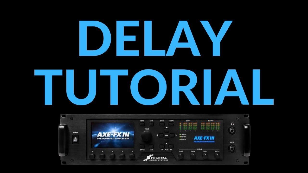 How I Use Delay - Axe-Fx III Solo Boost Strategies pt IV - Leon Todd