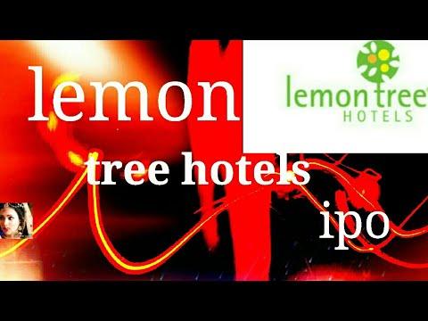 Lemon  tree hotels ltd ipo upcoming IPO 2018