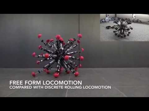 Kill it before it lays eggs! Crazy 32-leg robot moves like a cyborg sea urchin