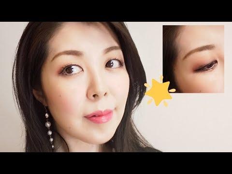 Glitter Eye Make-up★グリッターでキラキラアイメイク【アラフィフ・Forties】 thumbnail