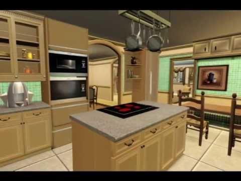 Sims 3 Wisteria Lane - Bree Hodge/Van de Kamps House - YouTube