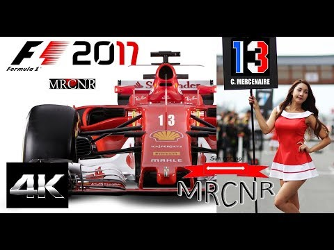 F1 2017  - Immersion Cockpit - 4K - Saison 1 - N°8 ( Baku ) F1 2017 Carriere