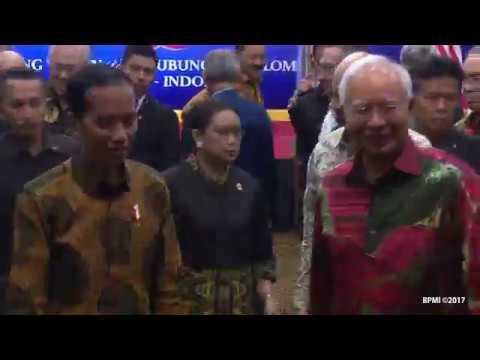 FULL Pernyataan Pers Bersama Presiden RI dan Perdana Menteri Malaysia, Kuching, 22 November 2017