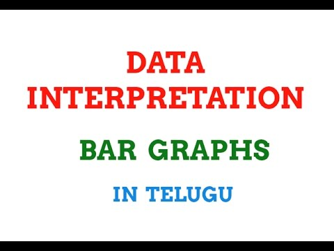 Data Interpretation || bar graphs in telugu || group 3 || sbi po || ssc mts