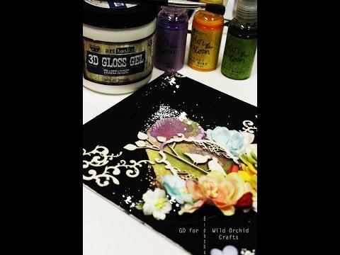 Guest Designer Tutorial - Heart Canvas - Bipasha