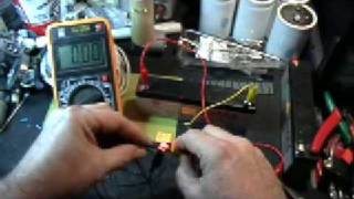 Voltage drop across circuit elements