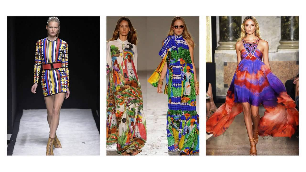 843f1d2c3f Modne sukienki kolorowe kolekcja 2015 - YouTube