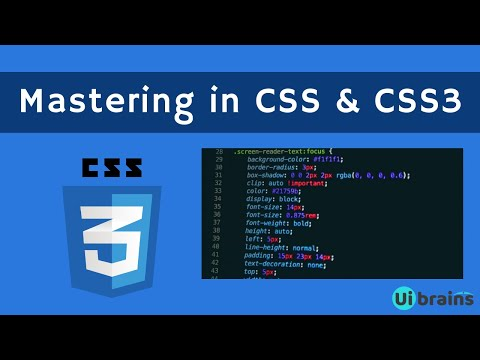 01 Introduction to CSS | css tutorial for beginners | Ui Brains | Naveen Saggam thumbnail
