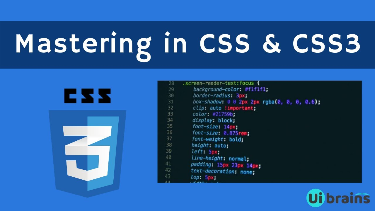 01 Introduction To Css